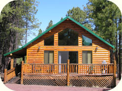 The Lamar Cabin Rental in Greer Arizona