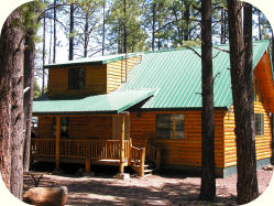 The Shoshone cabin rental in Greer AZ