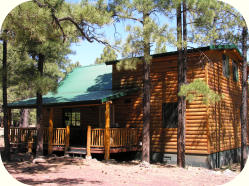 The Teton rental cabin in Greer Arizona