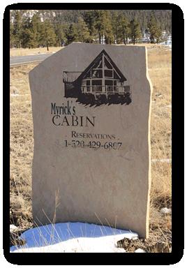 Myrick S Cabins Location Greer Arizona Cabin Rentals